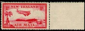 NEW ZEALAND SG570, 1d carmine, NH MINT.