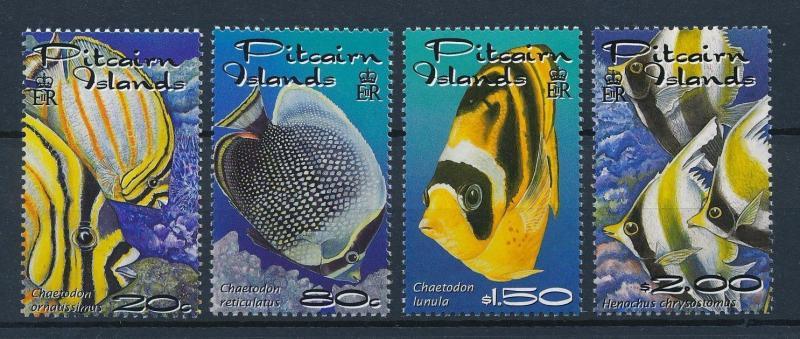 [35262] Pitcairn Islands 2001 Marine Life Fish MNH