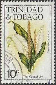 Trinidad & Tobago, #393h Used From 1987