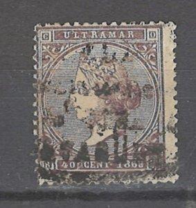 COLLECTION LOT # 2478 CUBA #31 1868 CV=$20