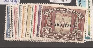 El Salvador SC 543-7, C41-5 MOG (2dbr)