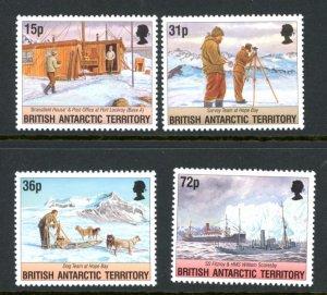 British Antarctic Territory 214-7 MNH mint Ships      (Inv 001063)