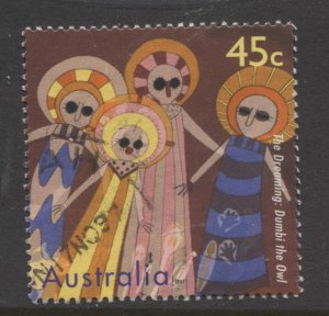 STAMP STATION PERTH Australia #1608 The Dreaming Definitive  Used