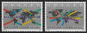 United Nations - Geneva - # 260-261 - UNCTAD - MNH