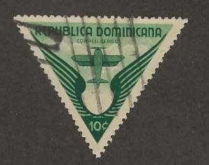 DOMINICAN REPUBLIC  SC #  C34   USED