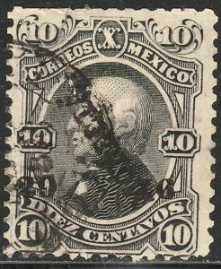 MEXICO-Morelia 107, 10c 29-76 ABN ISSUE, USED. F-VF (25)