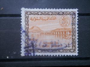 SAUDI ARABIA, 1960, used 4p, Type I, Scott 215