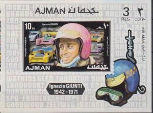 AJMAN SHEET DRIVERS RACING CARS GIUNTI