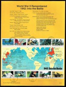 US #SP1020 (2697) World War II (5Stars)