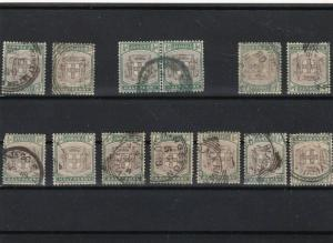jamaica used stamps ref 13666