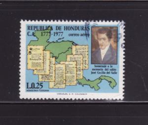 Honduras C624 U José Cecilio del Valle, Policitian (E)