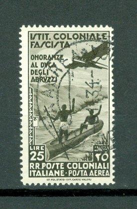 ITALIAN COLONIES SCARCE  AIR #C28..USED NO THINS..$240.00
