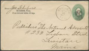 TEXAS MCLENNON COUNTY (1890 McGregor)  #400