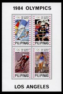 Philippines 1705 MNH Olympic Sports, Boxing, Cycling, Athletics