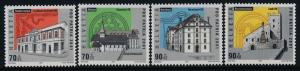 Switzerland B656-9 MNH Landmarks, Hauterive Abbey, Bishop's Castle