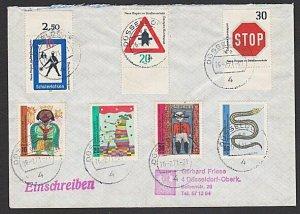 GERMANY 1971 registered cover - nice franking...............................K332