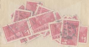 Canada USC #411 Used (25) 1963 $1 Export - Some CDS F-VF Most VF