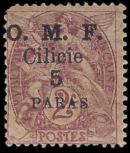 Cilicia 1920 YT 89 mh g-vg Papier GC variety