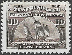 Newfoundland Scott Number 68 FVF H