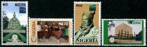 HERRICKSTAMP NIGERIA Sc.# 844-47 Bello University 2012