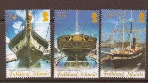 FALKLAND ISLANDS SG1043/5 2006 MARITIME HERITAGE MNH