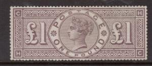 Great Britain #110 (SG #185) Extra Fine Mint **With Certificate**