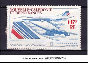 NEW CALEDONIA - 1976 1st COMMERCIAL FLIGHT OF CONCORDE AVIATION 1V UNUSED