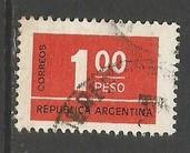 ARGENTINA 1114 VFU H1282