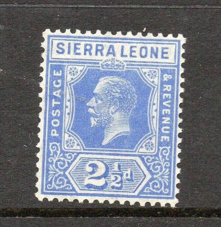 Sierra Leone 1921 Early Issue Fine Mint Hinged 2.5d. 303569