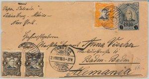 51090 -  EL SALVADOR -  POSTAL HISTORY - POSTAL STATIONERY COVER to GERMANY 1911