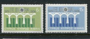 Cyprus #625-6 MNH 1984 Europa