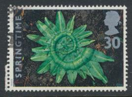 GB SG 1855 SC# 1593 Used Seasons Sprintime  Garlic Leaves  see details