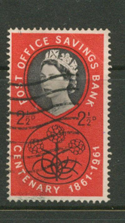 Great Britain QE II  SG 623B  VFU  Thrissell Machine Prin...
