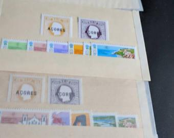 AZORES 1980 Year Set MNH 7 Stamps x 4 sets