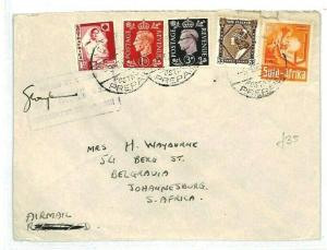 EGYPT GB SOUTH AFRICA NEW ZEALAND Franking {samwells-covers} 1941 WW2 CW15