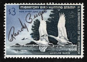 US Sc RW35 Federal Duck M/S Signature