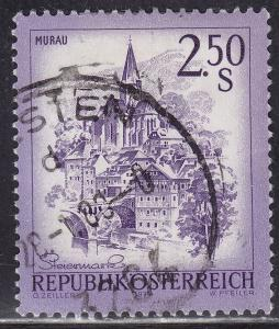 Austria 962 USED 1974 Murau, Styria