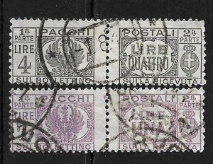 COLLECTION LOT #666 ITALY # Q58-9 CV+ $94