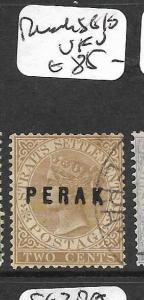 MALAYA PERAK (P0109B) QV 2C  SG10  VFU