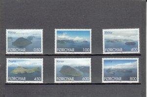 FAROE ISLANDS 356-361 MNH 2014 SCOTT CATALOGUE VALUE $6.55