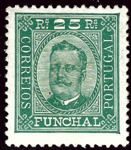 Funchal Portugal Sc#5a Mint F-VF hr...Popular Country!