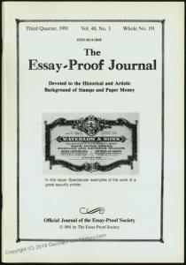 Essay-Proof Journal No191 GB UK Victoria US Revenues 44700