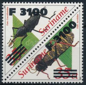 Suriname stamp Definitive pair MNH 2000 Mi 1760-1761 WS241334