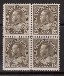 Canada #120 VF/NH **With Certificate**