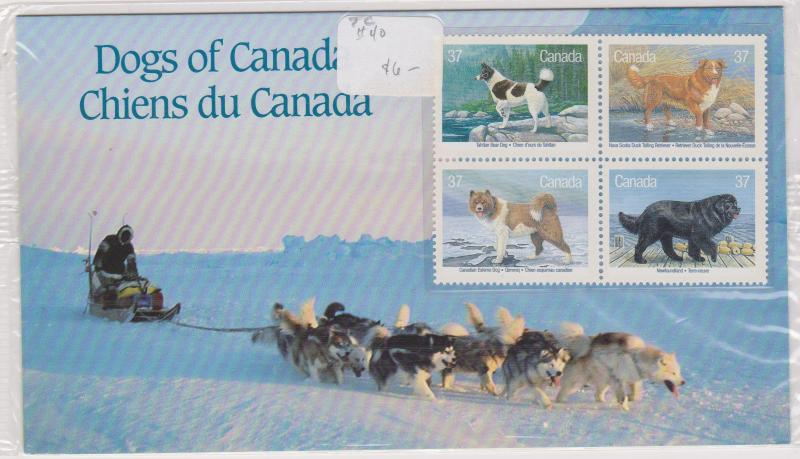 Canada - 1988 Dogs of Canada Thematic Collection #1217-1220