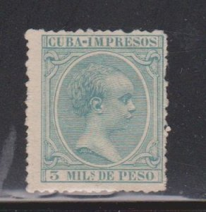 CUBA Scott # P28 Mint NO GUM - Newspaper Stamp