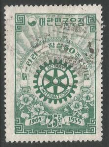 SOUTH KOREA 214 VFU ROTARY Z4875