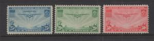 US 1935 - 7 China Clipper Stamp Selection Scott C20-C22 3 Stamps MH