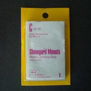 Mounts Showgard,C,  50/31mm (40ea. clear)(00524C)