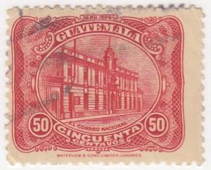 Guatamala, Sc # 222, Used, 1926, National Palace